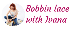 Bobbin lace with Ivana